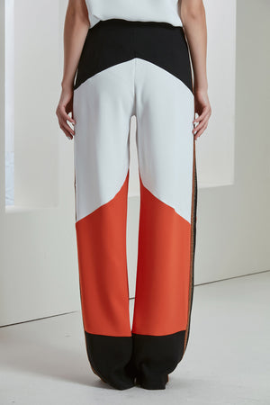 Spring/Summer Mix Block Colours Trousers - Vercia Fashion Group