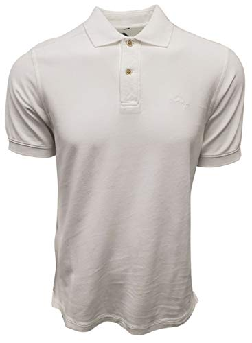 Tommy Bahama Men's New Marlin Around Polo (Small, White) - Vercia Fashion Group