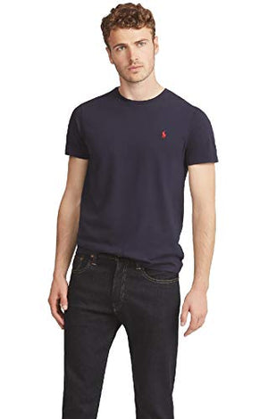 Polo Ralph Lauren Men's TEE-Shirts T, Blue (Ink A4000), S - Vercia Fashion Group