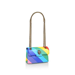 Load image into Gallery viewer, Kurt Geiger LONDON MINI LEATHER KENSINGTON BAG Multicolour Size: One Size - Vercia Fashion Group