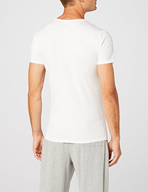 Load image into Gallery viewer, Tommy Hilfiger Men's Cn Tee Ss 3 Pack Premium Essentials T-Shirt, White, Medium (Manufacturer size: 48) - Vercia Fashion Group