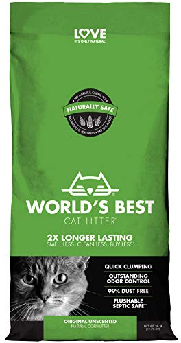 Load image into Gallery viewer, Worlds Best Cat Litter 28lb (12.7kg) Original Unscented - Vercia Fashion Group
