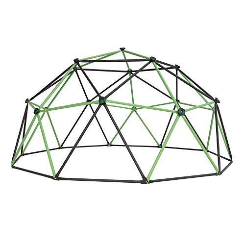 LIFETIME Unisex-Youth Dome Climber Jungle Gym, Mantis Green & Bronze, 66 Inch - Vercia Fashion Group