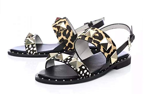 Moda in Pelle Illani Leopard Pony- UK Size 3 EU 36 - Vercia Fashion Group