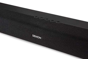 Denon DHT-S216 Soundbar for Surround Sound System, Bluetooth Sound Bar with Built-in Subwoofers, Dolby Digital, DTS Decoding, Dialogue Enhancer, HDMI ARC, Wall Mountable, Music Streaming - Vercia Fashion Group