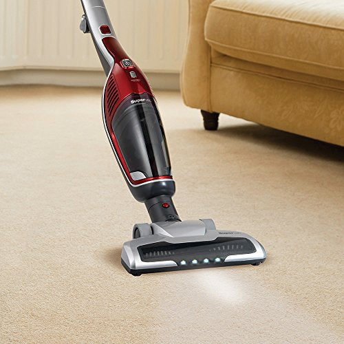 Morphy Richards Supervac 2-in-1 Cordless Vacuum Cleaner 21.6v 732102 Red Vacuum Cleaner Cordless - Vercia Fashion Group
