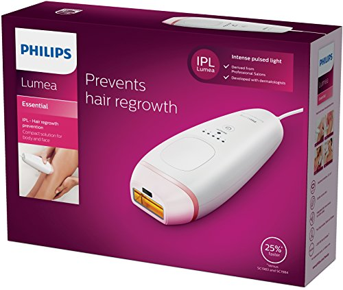 Philips Lumea Essential IPL Hair Removal Device for Body - BRI861/00 - Vercia Fashion Group