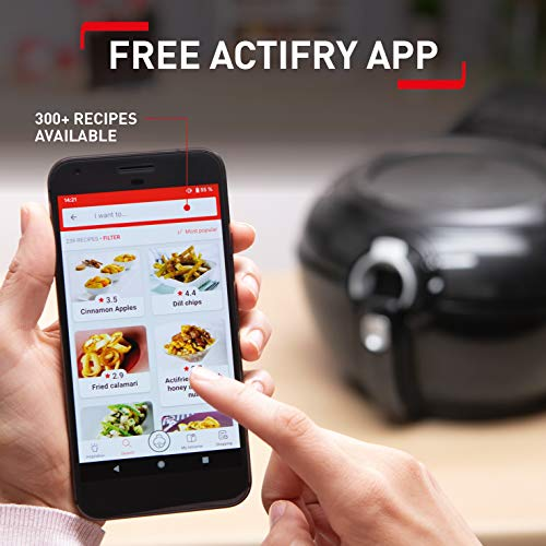 Load image into Gallery viewer, Tefal ActiFry Genius XL 2in1 YV970840 Health Air Fryer, Black, 1.7 kg, 8 Portions - Vercia Fashion Group