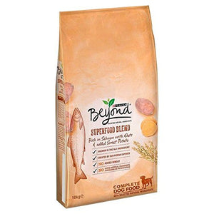 Purina Beyond Superfood Salmon & Potato 10kg (PACK OF 4) - Vercia Fashion Group