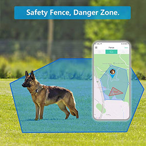 PETFON GPS tracker for outdoor dog pets activity real time tracking device smart finder hiking and camping(Only for DOG) - Vercia Fashion Group