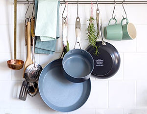 GreenPan Cookware Set, 11 Piece Pots & Pans Set, Non Stick, Toxin Free Ceramic - Induction, Oven & Dishwasher Safe Cookware, Grey - Vercia Fashion Group