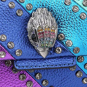 Load image into Gallery viewer, Kurt Geiger London Women's Crystal Mini Kensington Bag - Multi - Vercia Fashion Group