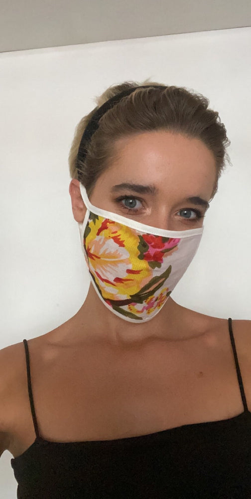 Vercia Designer Face Mask In Floral Print - Vercia Fashion Group