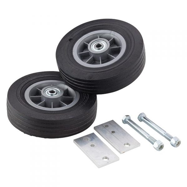 8″ No-Flat Solid Rubber Tire Kit (for 4′, 5′, 6′, 8′ Ladders)