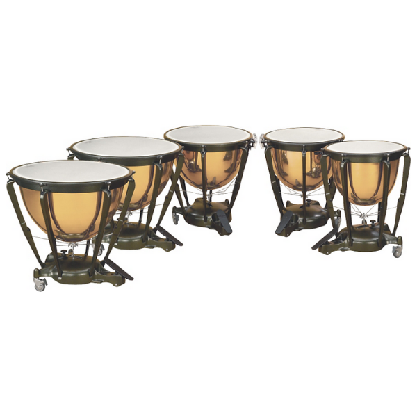 USED - Majestic Symphonic Copper Timpani, Set of 5