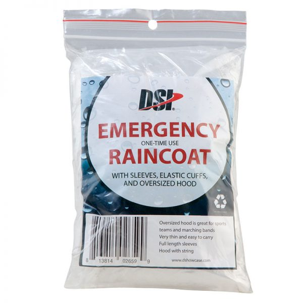Emergency Raincoat (10 pack)