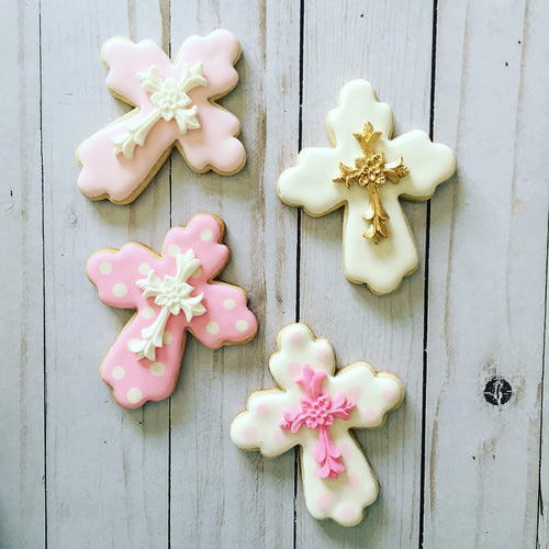 Girl Communion/Baptism cookies