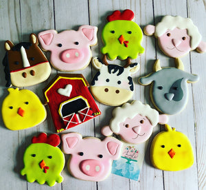Animal Farm Cookies