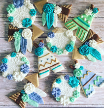 Load image into Gallery viewer, Boho Theme Cookies