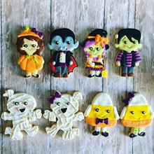Load image into Gallery viewer, Halloween Characters Sugar  Cookies