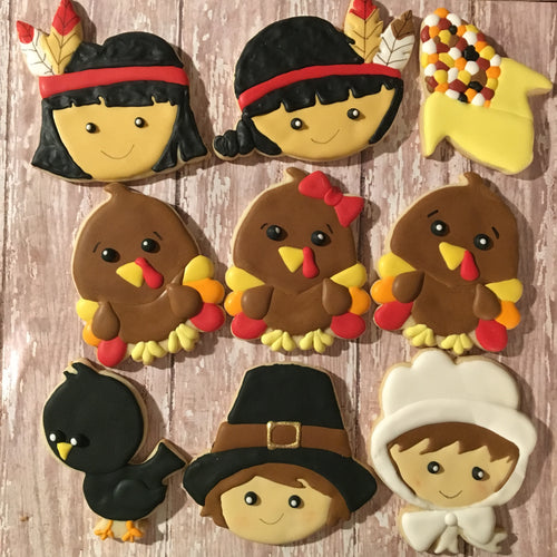 Thanksgiving theme Cookies