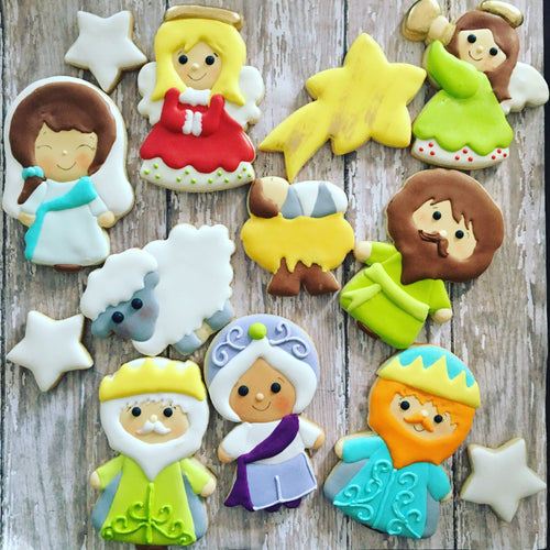 Nativity Christmas Cookies