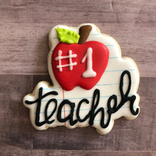 Load image into Gallery viewer, Teacher appreciation week cookies