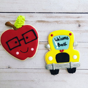 Teachers, Back to School cookies