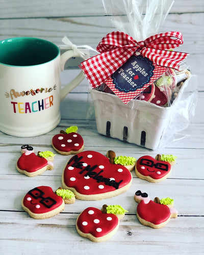 Teacher cookies set