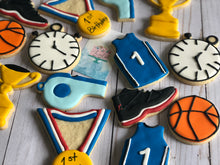 Load image into Gallery viewer, Basketball theme cookies
