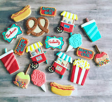 Load image into Gallery viewer, Carnival theme  Cookies