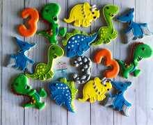 Load image into Gallery viewer, Dinosaur Cookies