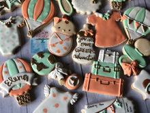 Load image into Gallery viewer, Air Balloon Baby shower cookies