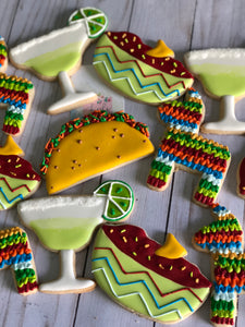 Mexican cookie theme