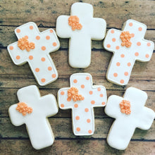 Load image into Gallery viewer, Communion/Baptism cookies