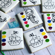 Load image into Gallery viewer, PYO Cookies Mermaid / Pirates