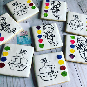 PYO Cookies Mermaid / Pirates
