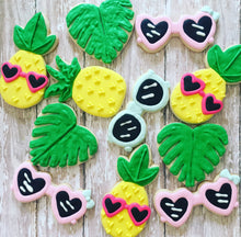 Load image into Gallery viewer, Tropical Summer theme Cookies