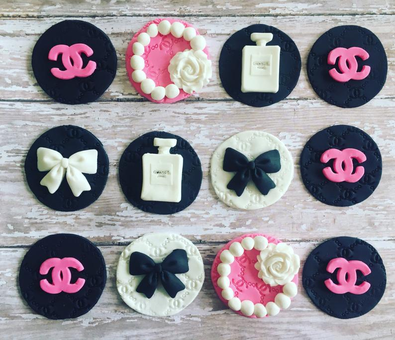Logo Cupcake toppers