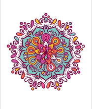 Load image into Gallery viewer, Mandala Edible Sheet