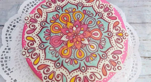 Mandala Edible Sheet