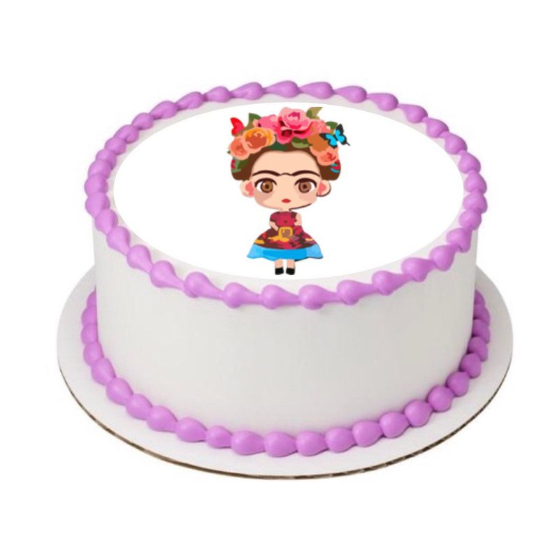 Frida Edible Sheet 8