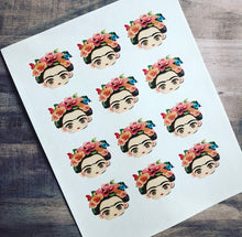 Load image into Gallery viewer, Frida Face Edible Sheet