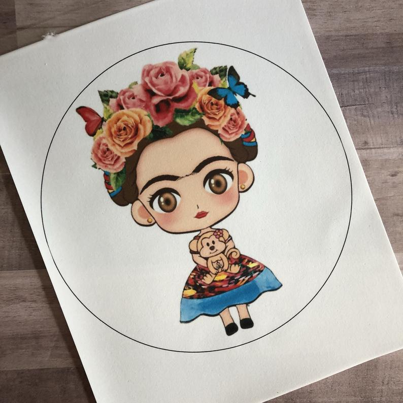 Frida Edible Sheet