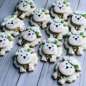 Lambs/ Confirmation / Communion / Baptism cookies