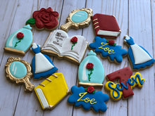 Load image into Gallery viewer, Beauty and the Beadt Princess Cookies