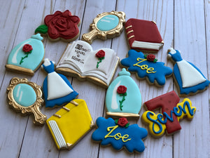 Beauty and the Beadt Princess Cookies
