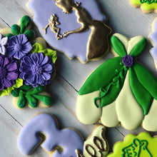 Load image into Gallery viewer, The princess and the frog Cookies