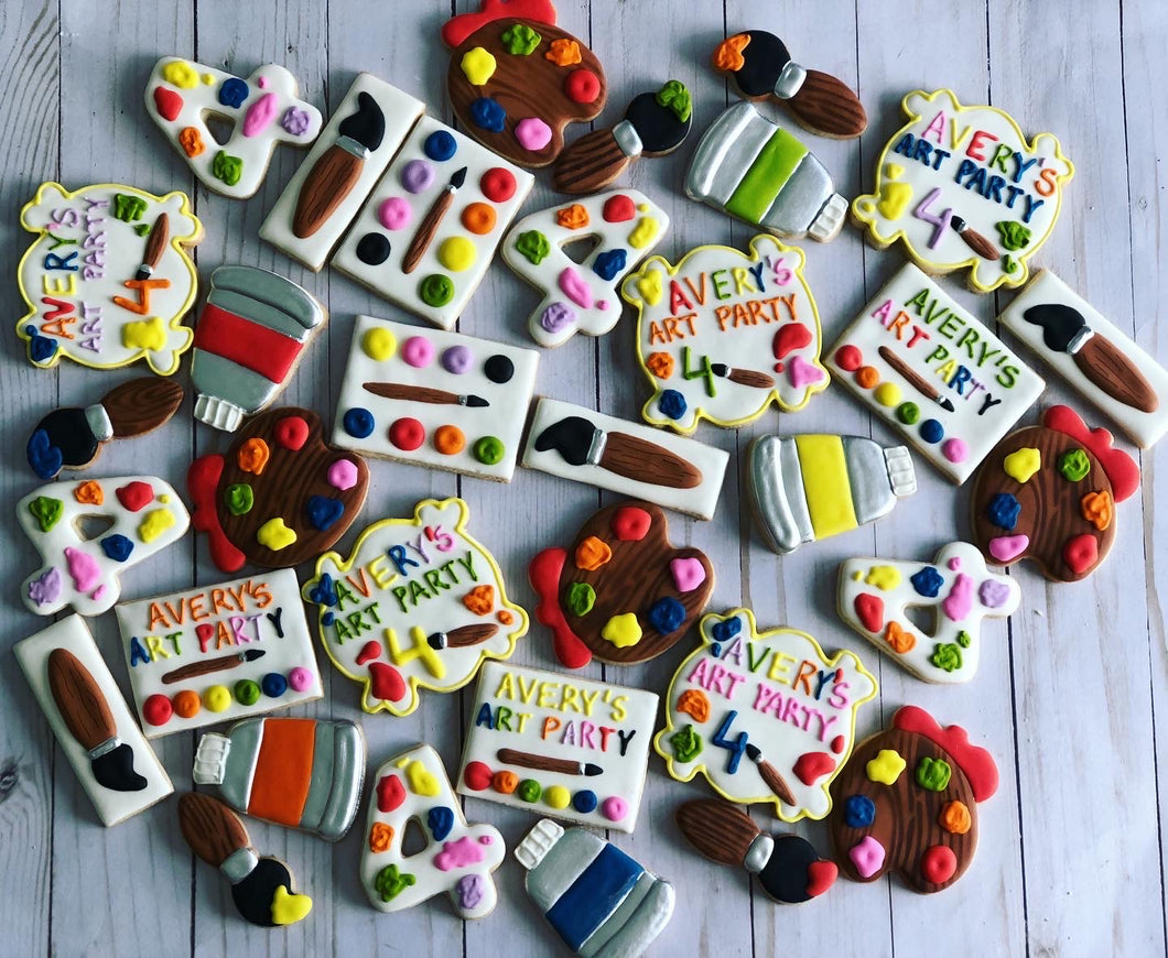 Paint theme  Cookies