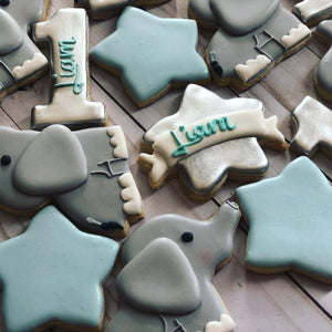 One year old Theme Cookies